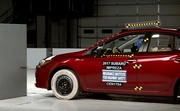 2017 Subaru Impreza small overlap IIHS crash test