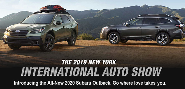 The All New 2020  Subaru Outback