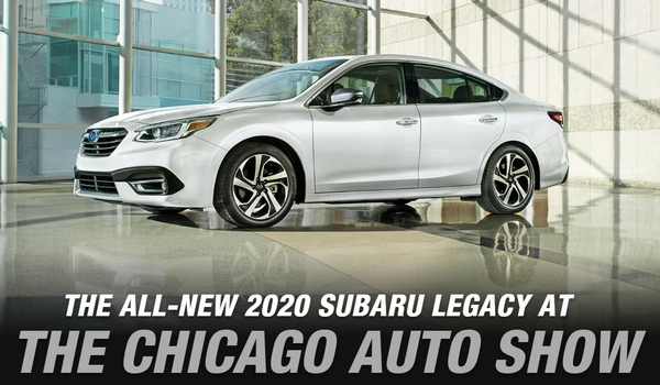 THe ALL NEW 2020 SUBARU LEGACY st chicago auto show