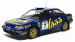 CM's LEGACY RS 1993 Rally of Newzealand Winner